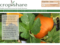 Cropshare website screen shot