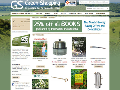 Screenshot from green-shopping.co.uk